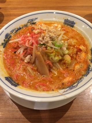 海老味噌担々麺